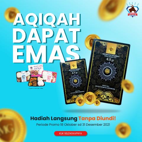 promo aqiqah dapat emas